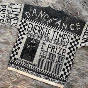 Jamie Scott Vintage Graphic Sweater